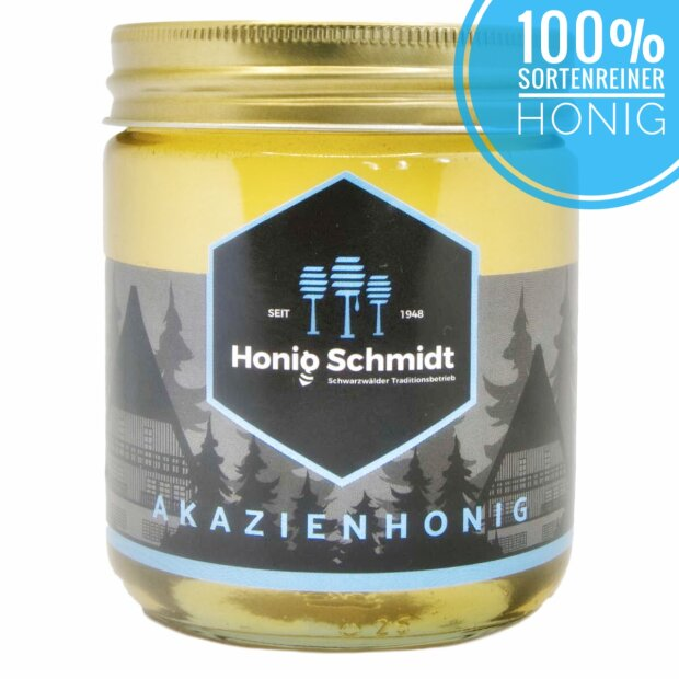 Acacia honey 500g glass 500g